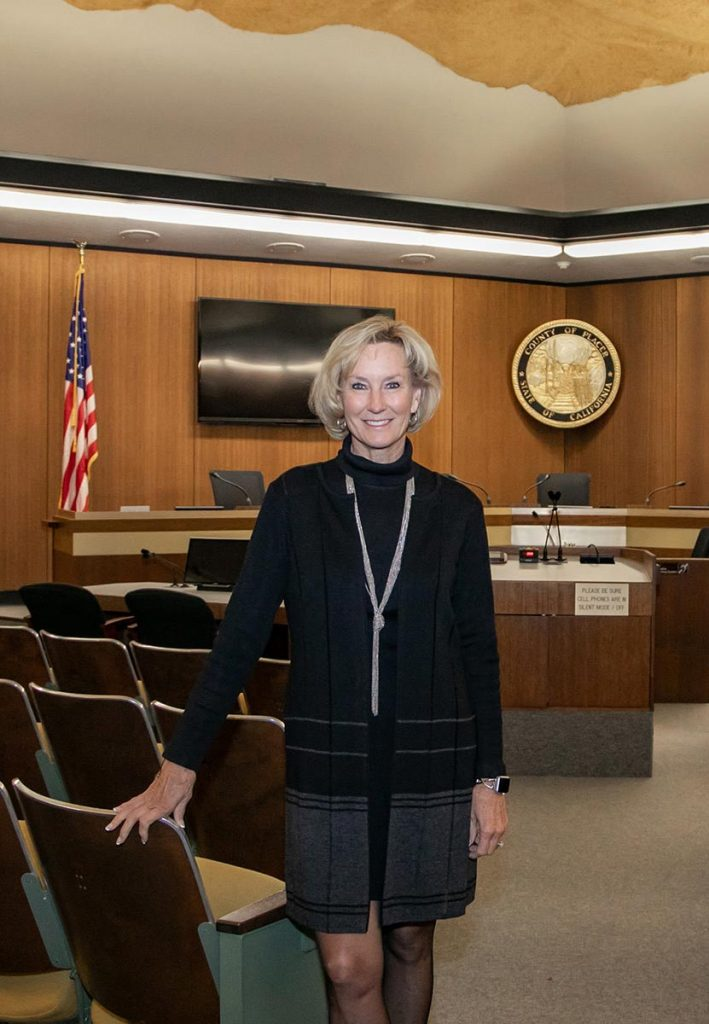 """""""In April 2019, I was appointed to serve as Placer County Supervisor, District 5. I feel very fortunate to live, work and serve in Placer County. For more than 30 years, it's the place I've raised my family and feel lucky to call home."""""""